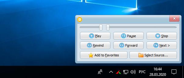 Простой плеер для Windows