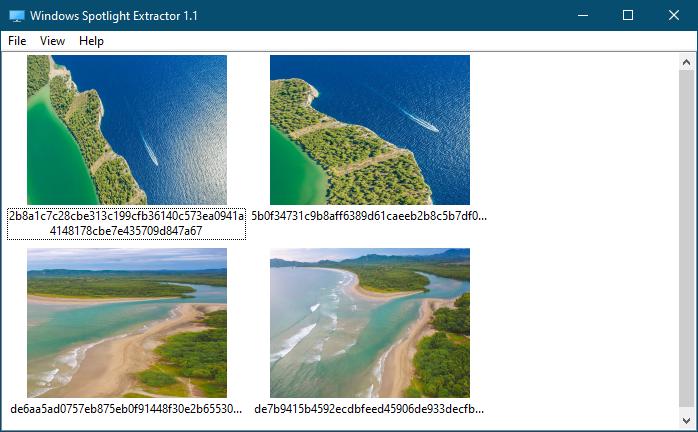 Легкий способ извлечь изображения Spotlight из кэша Windows 10