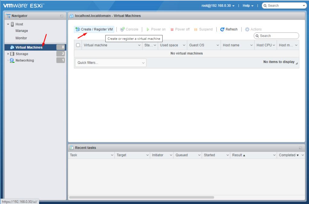 Как создать виртуальную машину из образ OVF в Esxi 7
