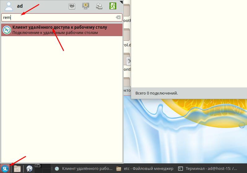 Simple linux как запустить Remmina