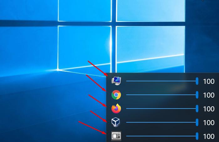 Как настроить громкость каждого приложения в Windows