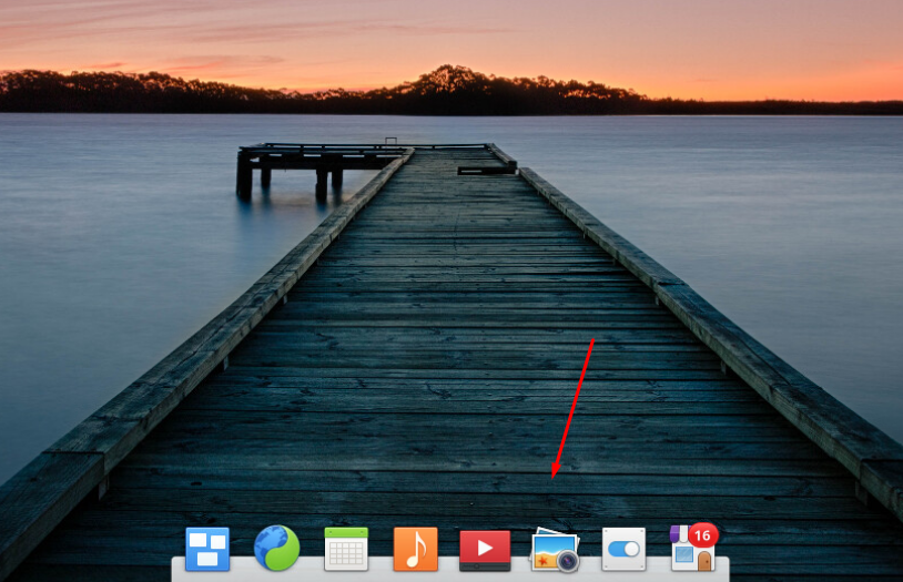 Elementary OS док-панель