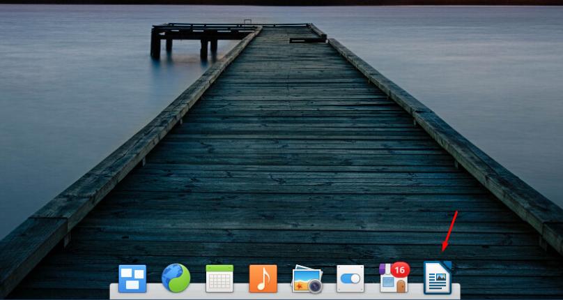 Elementary OS добавление элементов на  док-панель