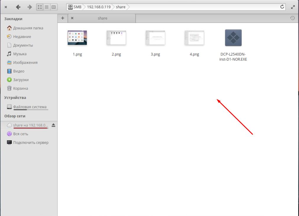 Как подключить сетевую папку Elementary OS