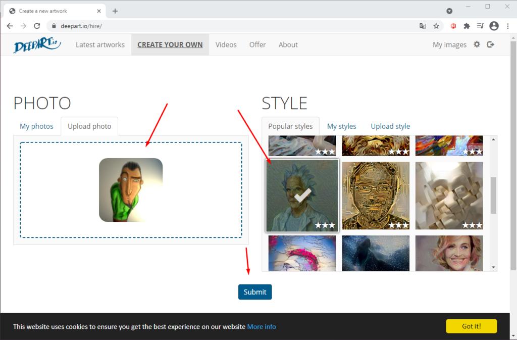 Как сделать картину из фотографии онлайн и бесплатно