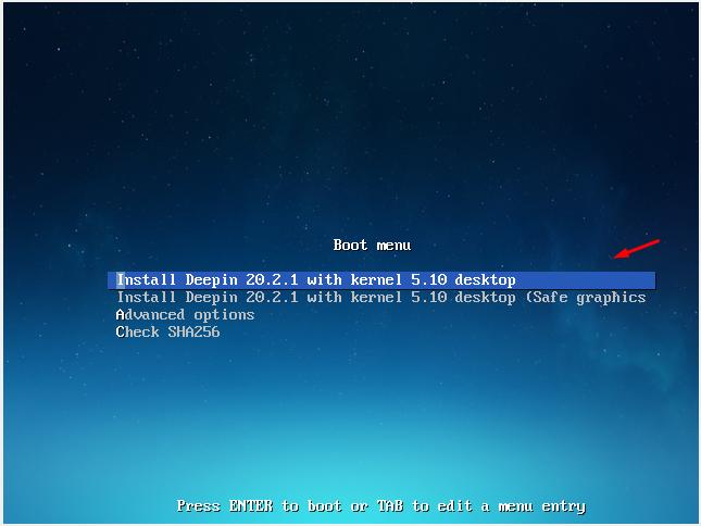 Deepin Desktop 20.2.1 установка
