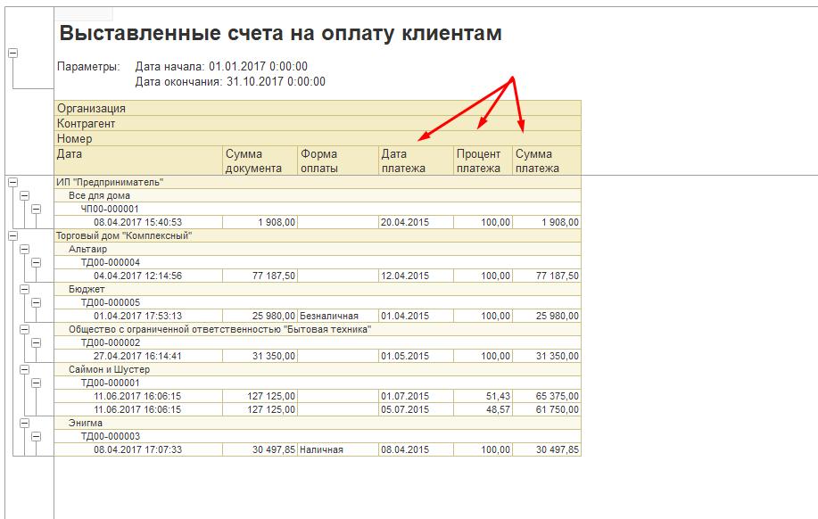 Изменение названия колонки в отчете на СКД 1С
